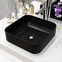 Amazon.fr : vasque ceramique noir
