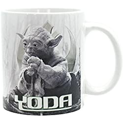 ABYSSE / BIOWORLD Star Wars Taza Yoda Dagobah, multicolor, 320 ml
