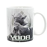 Mug Star Wars Yoda Dagobah sublimé de 320 ml.