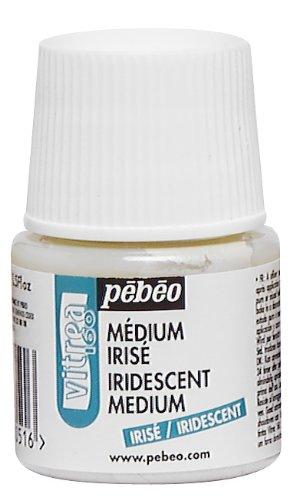 pebeo-45-ml-vitrea-160-glass-paint-iridescent-medium-bottle-transparent