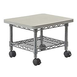Safco Wire Geräteständer für unter den Schreibtisch - grau