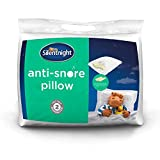 Best Anti Snore Pillows - Silentnight Anti-Snore Pillow, White, Standard Review