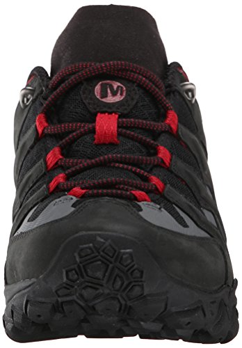 Merrell Cham Shift Vent, Chaussures de Randonnée Hautes Homme Noir (Black/Red J64997)