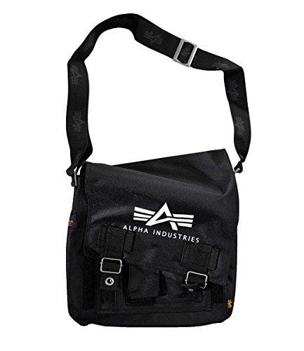 Alpha Industries Big A Oxford Utility Bag Organize Black