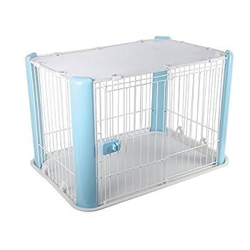 Iris Ohyama 530758 Chien Cage Parc d'Extérieur Enclos Chenil Bleu Europe Cls-960 1 kg