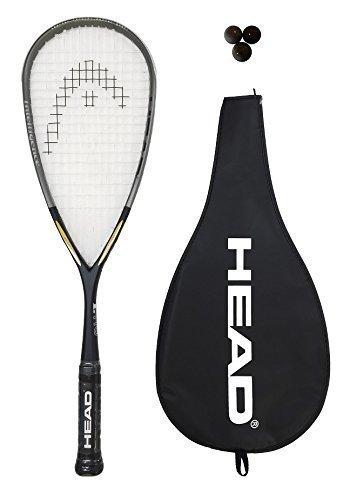 Head Intelligence i.110 Squash Racket + 3 Squash Balls