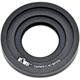 Kiwifotos adaptateur de monture d'objectif pour C-monture sur Nikon 1 Série - J1, J2, J3, S1, V1, V2