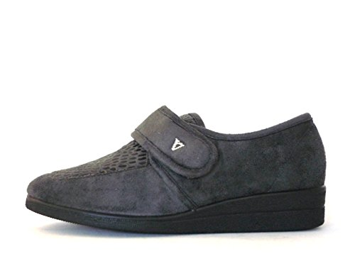 VALLEVERDE , Chaussons pour femme gris anthracite Anthracite