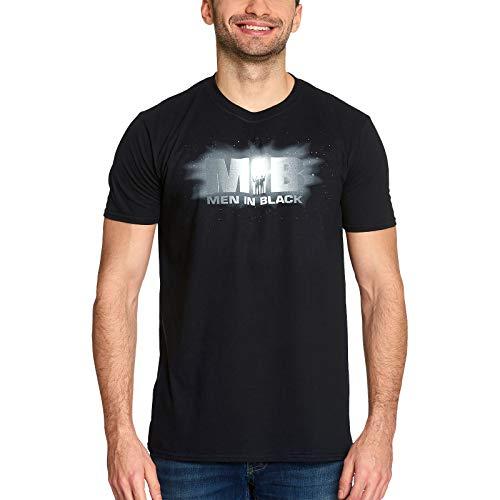 Men in Black Herren T-Shirt Logo Baumwolle schwarz - XXL
