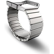 Fitbit Blaze Standard Accessory Band (Metal/Silver)