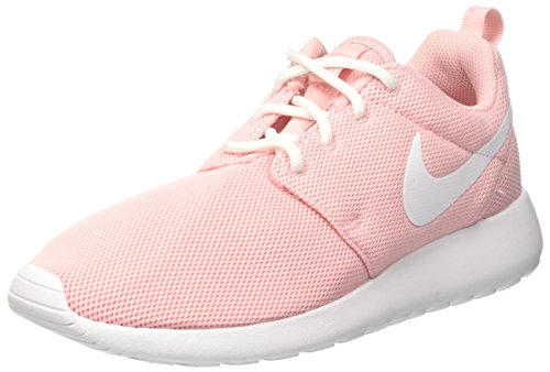 Nike Wmns Roshe One, Running Femme Rose (Sheen/white/white)