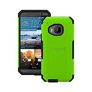 Simple Cell Trident Aegis Series Case for HTC One M9 Green and Black *AG-HTM900-TG000