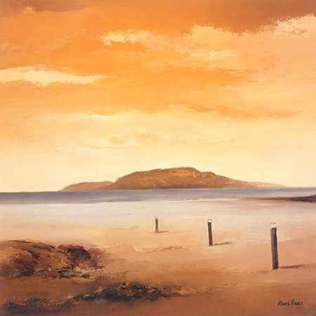 Quiet Sands II Von Paus, Hans Kunstdruck auf Leinwand - Klein (39 x 39 cms ) - Hans Paus Quiet Sands