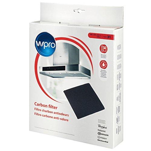 Wpro FIL950/1 Filtre de Hotte à Charbon Type 31 Remplace CFW031