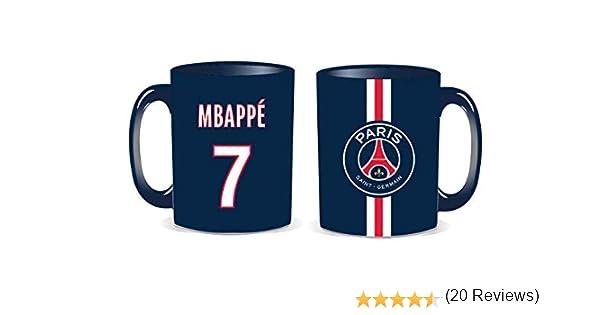 LA PLUME DOREE G.B Mug PSG Mbappe Collection officielle