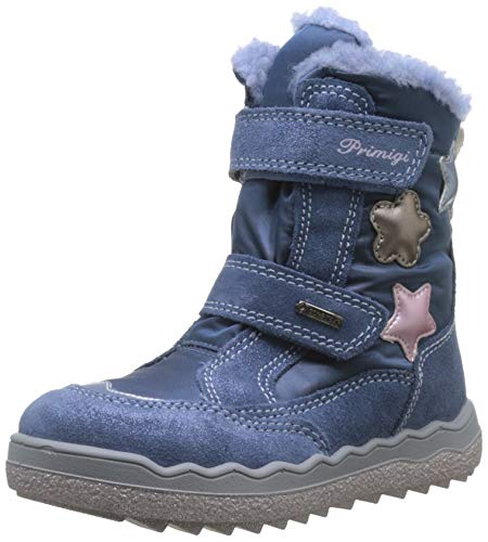 Primigi Gore-Tex Pfz 43820, Botas para Bebés, Azu/Jeans 4382000, 27 EU