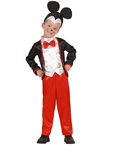 Vari costume carnevale bimbo piccolo, topino, topolino giacca *20034-2/3 anni
