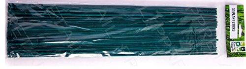 3045cm forte Verde Split canne-Supporto di incenso giardinaggio piante Lily