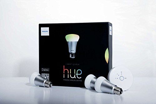 Philips 1st Gen LED Lamp Hue Starter Kit personal wireless lighting