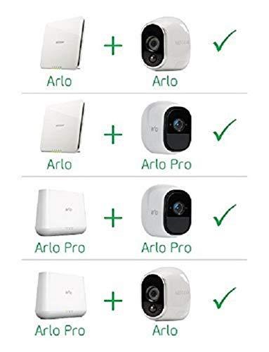 41qU6BaN0DL [Bon Plan Amazon] Arlo Pro - Smart caméra de surveillance, Pack de 3, 720p, jour/nuit, grand angle 100% Sans Fils - VMS4330-100EUS