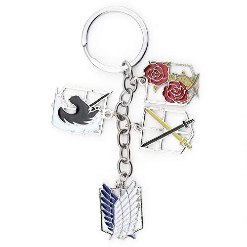 tan Schlüsselanhänger Anime Spiel Legierung Anhänger Schlüsselanhänger Schlüsselanhänger Film Schmuck Souvenirs ()