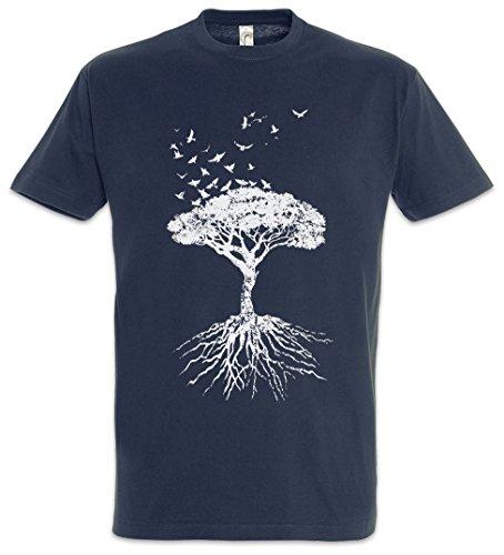 Yggdrasil Tree Logo VII T-Shirt - Arsen Celtic Irminsul Tree Loki of Life of Thor Odin Odhin Life Girl Größen S - 5XL (XXXXXL) - Celtic-logo-t-shirt