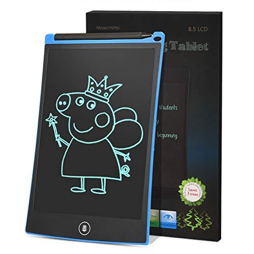 Dreamingbox Cadeaux Garcon 3-8 Ans, Tablette D'écriture LCD pour Enfants Cadeaux pour Fille 3-12 Ans Jouet Garcon 3-12 Ans Jouet Enfant 3-12 Ans Fille Bleu