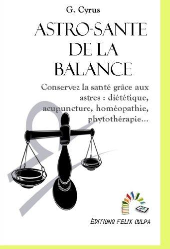 Astro-santé Balance