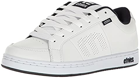 Etnies Kingpin, Men's Skateboarding Shoes, White, 9 UK
