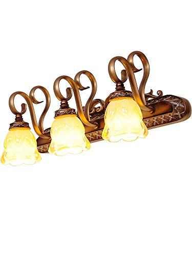 Europäische klassische kreative LED Retro Badezimmer Badezimmerspiegel Schrank Licht Spiegel Front Lampe Eitelkeit 3   Jahre effektives Licht -