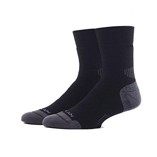 Calcetines Térmicos de Esquí de Terry, Adecuado para Todos los Deportes de Invierno,para Hombre, Mujer. (Negro, 39-43)