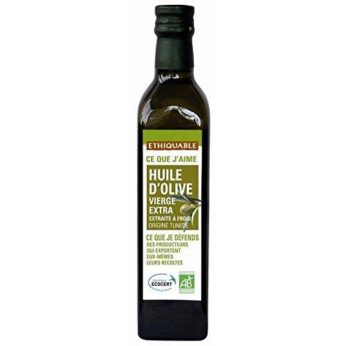 Éthiquable Huile Olive Extra De Tunisie Bio 50Cl - Prix Unitaire - Livraison Gratuit En France métropolitaine sous 3 Jours Ouverts