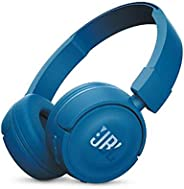 Caster Electronics JBL T450BT Wireless Bluetooth Headphones On-Ear Headset with Mic Noise Canceling Call &