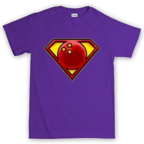 Super Bowling Pin Bowler Man T (Pin Bowling Kostüme)
