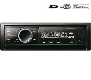 PIONEER Autoradio CD / MP3 / USB / SD / iPod DEH-9300SD + + Housse pour façade autoradio EFA100 .