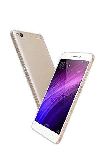 """Funda para Xiaomi Redmi 4a, Leathlux Trasparente Suave TPU Carcasa Protector Bumper Tapa Claro Flexible Silicona Gel Ultra Delgado Cubierta para Xiaomi Redmi 4a 5.0"""""""