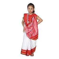 Shri Nikunj Raangoli Bengali Girl dress/costume for kids