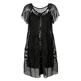 Alba Moda Damen Kleid schwarz