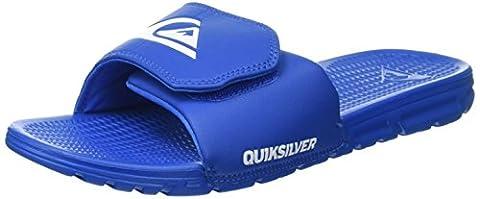 Quiksilver Shoreline Adjus, Tongs Homme, Multicolore (Blue/Blue/Blue), 39