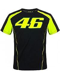 4e584cc6 2018 Valentino Rossi 46 Mens T-Shirt Racing 46 Design - Black/Yellow