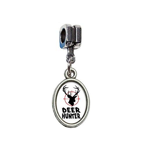 Deer Hunter–Buck Jagd–Antik Italienisch europäischen Euro Stil Perle -