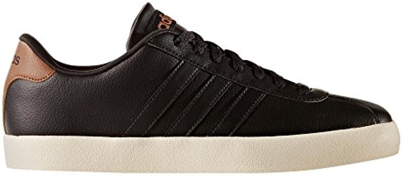 adidas NEO Herren Sneakers Vlcourt VULC Schwarz (200) 44 -