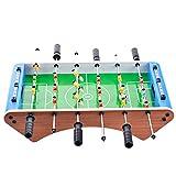 ChenYongPing Giocattoli interattivi per Bambini Top Football Table Set di Giochi da Tavolo da Biliardo Mini biliardino Adatto per Giochi di Famiglia Giocattoli per abilità motorie
