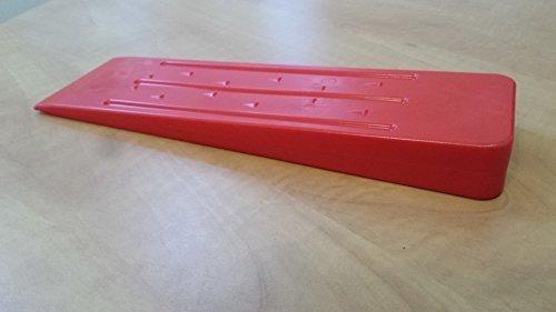 coin-dabattage-en-plastique-forstkeil-190-mm-rouge