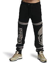 Yakuza Pantalones de Hombre Calavera Jogger Job 11028(Negro), Negro , XXXL