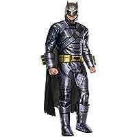 "Disfraz Batman v Superman, Armadura de Batman de lujo para hombre, estándar, pecho 44"", cintura 30 - 34"", pernera 33"""