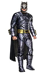 "Rubie´s Batman V Superman Costume, Mens Deluxe Batman Armored Outfit, Standard, Chest 44"", Waist 30 - 34"", Inseam 33"""