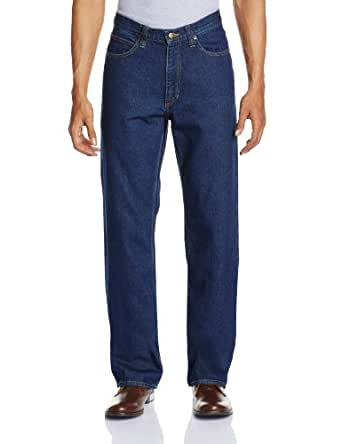 Lee Men's Chicago Relaxed Fit Jeans (8903252707906_1LJ05064E_34W x 33L_Classic Dark Stone)
