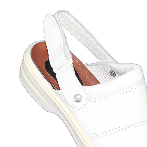 Jal Group Laborschuhe PB AE Arztschuhe Berufsschuhe Sandale Weiß B-Ware Weiß