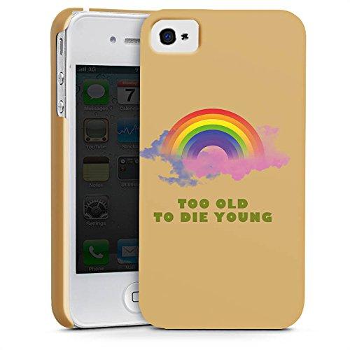 Apple iPhone X Silikon Hülle Case Schutzhülle Regenbogen Rainbow Leben Premium Case glänzend